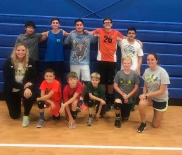 Free Boys Volleyball Clinic- Indian Trail