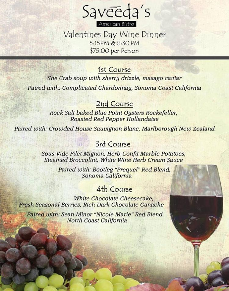 Valentine's Day Wine Dinner