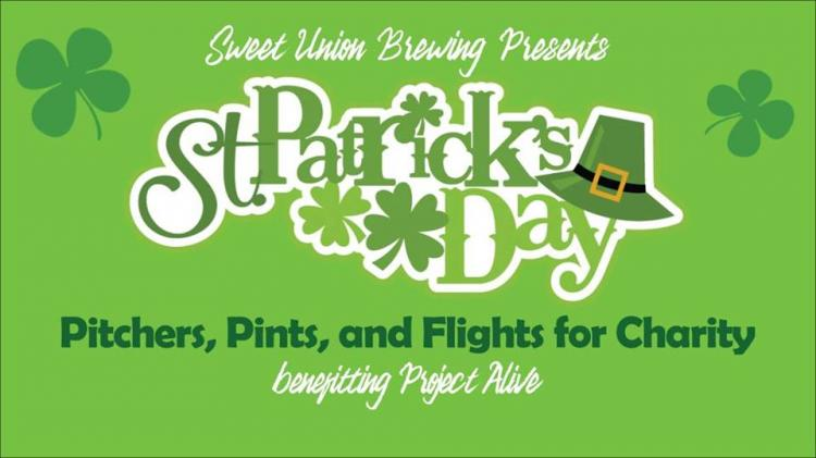St. Patrick's Day Pitchers, Pints, and Flights for Charity
