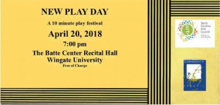 Playmakers and Wingate University Present New Plays by Local Playwrights