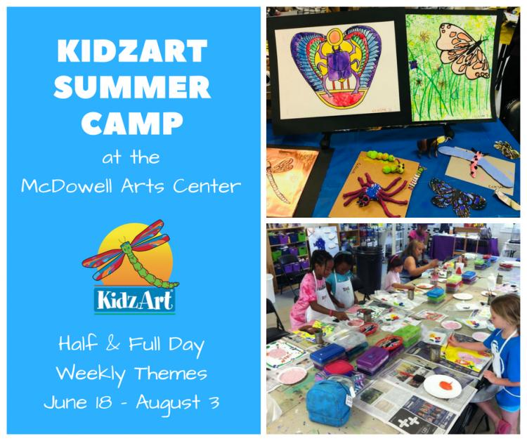 KidzArt Camp 7: Exotic Animals (afternoons)