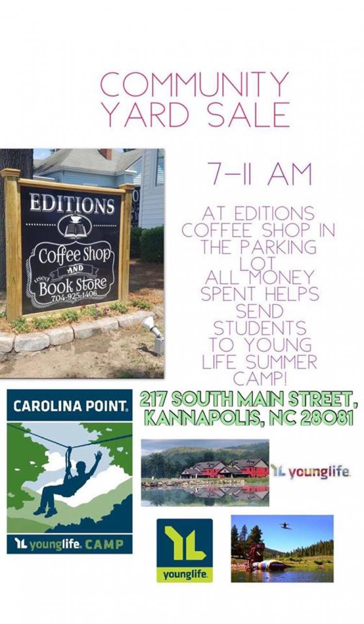 Young Life Garage Sale for Summer Camp