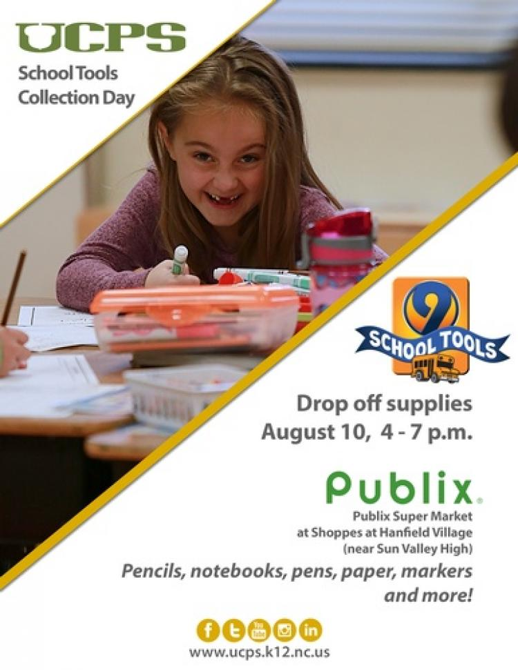 UCPS School Tools Collection Day