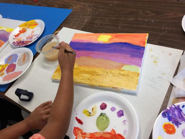 Drawing & Painting Session, Ages 6-9