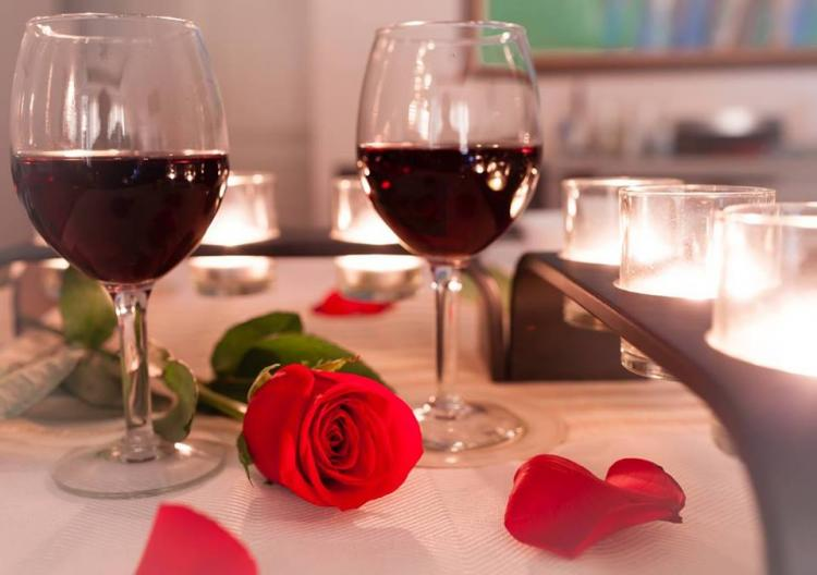 Valentines Day Dinner at Treehouse Vineyards