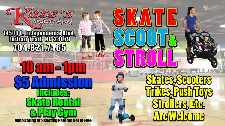 Skate, Scoot and Stroll