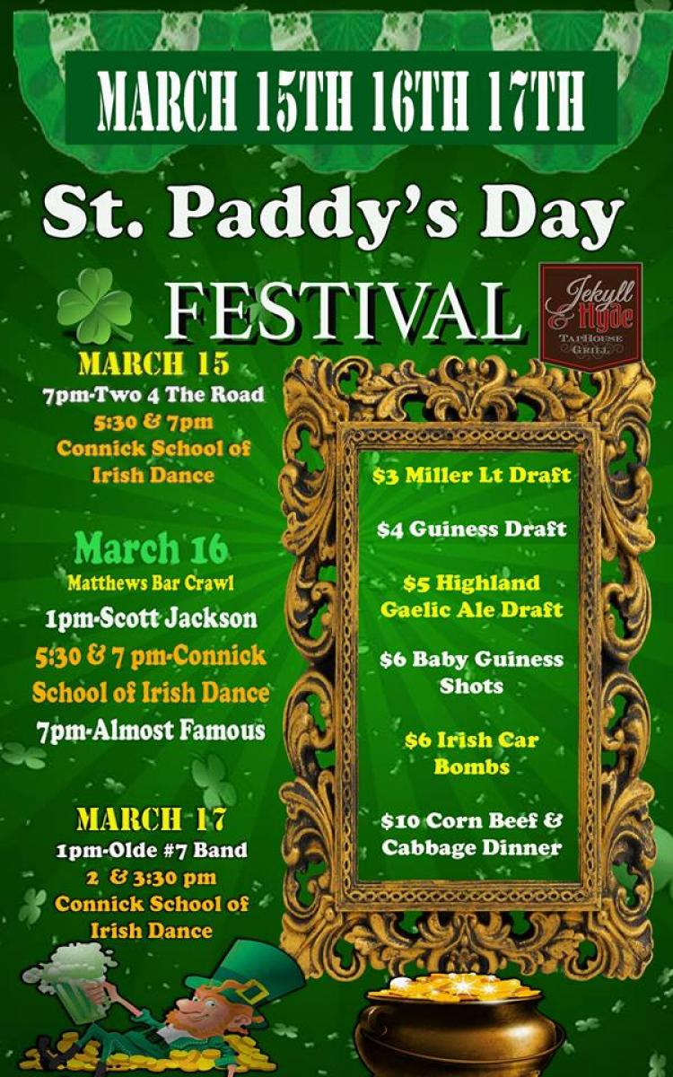 St. Paddy's Day Festival