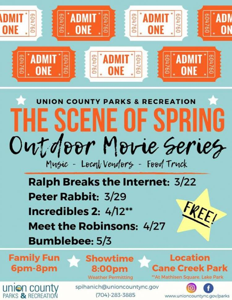 The Scene of Spring! - Outdoor Movie Series