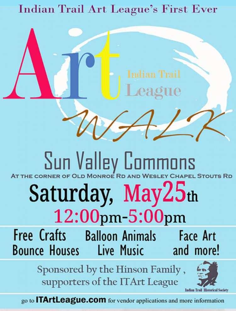 Indian Trail Art Walk