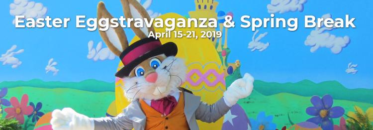 Carowinds Easter Eggstravaganza and Spring Break