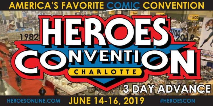 Heroes Convention - Charlotte
