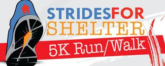 STRIDES FOR SHELTER 5K AND FUN RUN