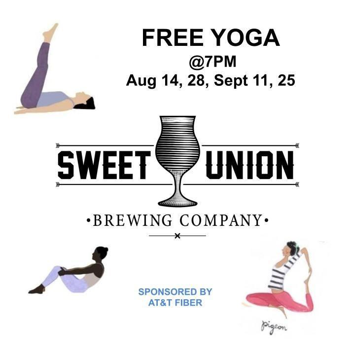 Free Yoga at Sweet Union