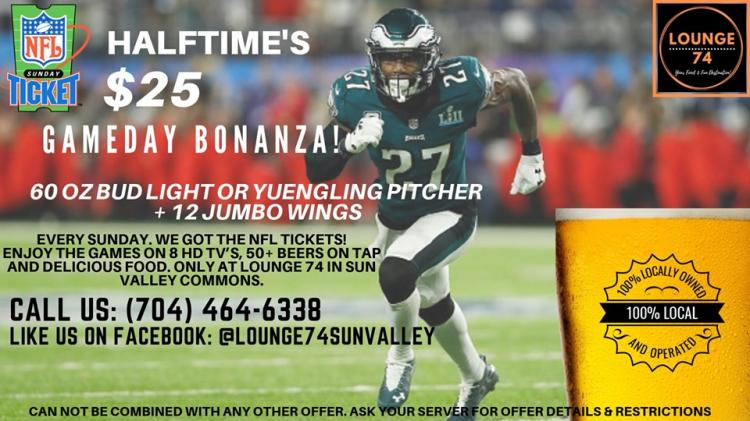 NFL Sundays At The Lounge