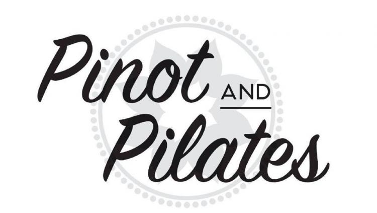 Pilates class and a glass of wine