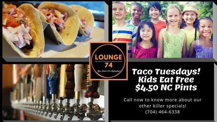 Taco Tuesday at Lounge 74