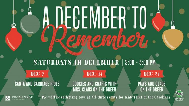 A December to Remember at Promenade on Providence