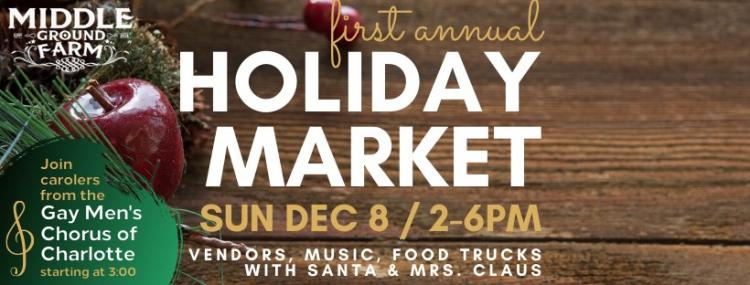 Holiday Market at Middle Ground Farm