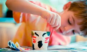 Toddler Tuesdays at Dish It Out Pottery Studio