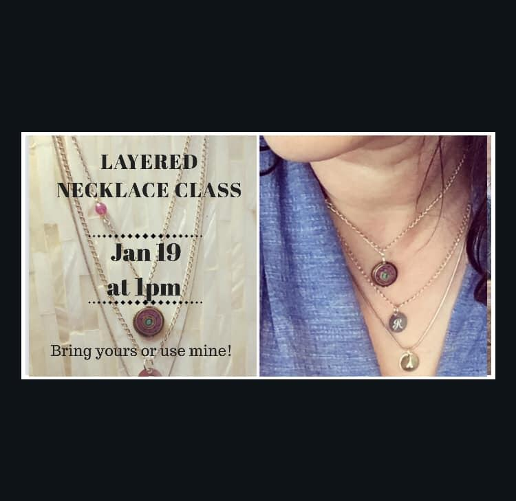 Layered Necklace Class