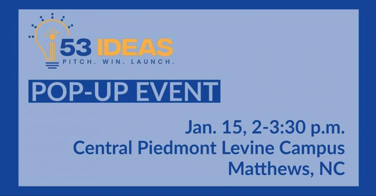 53 Ideas: In Person Pitch Pop-Up Event