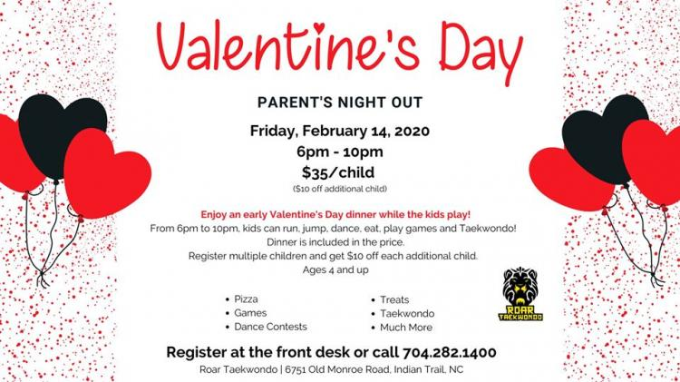 Valentine's Party 2020 | Parent's Night Out