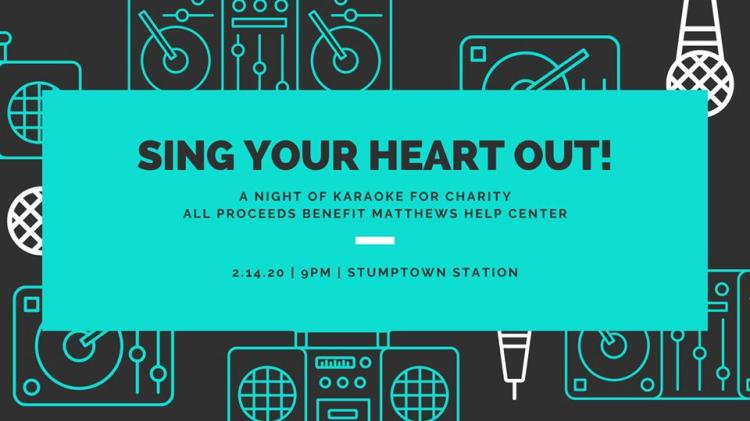 Sing Your Heart Out - Karaoke for Charity!