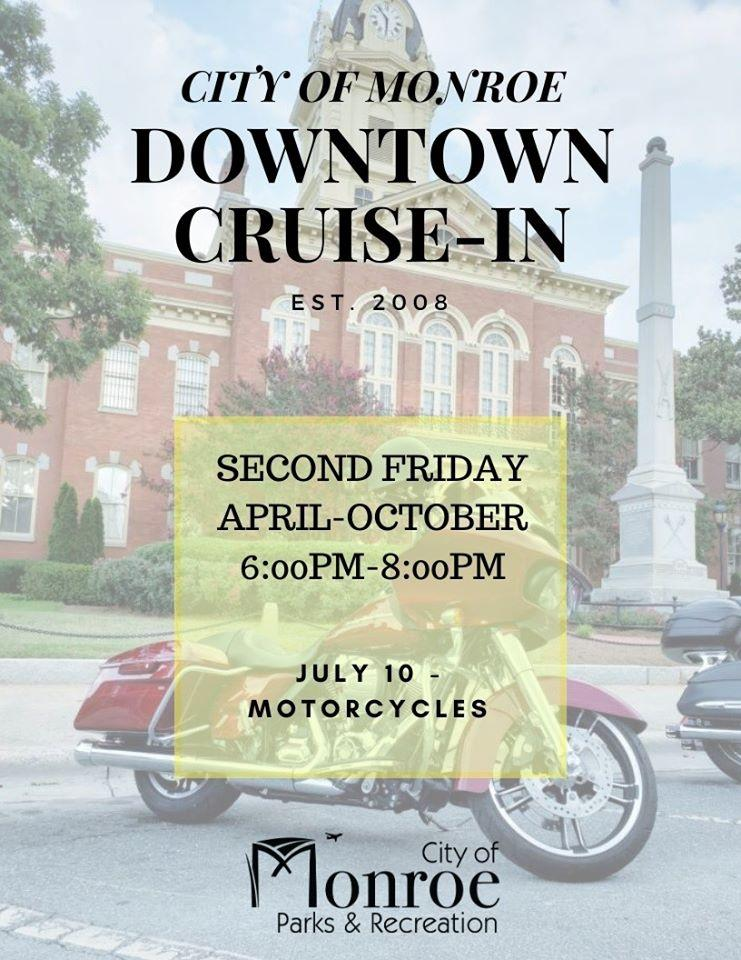 Classic Car Cruise In - Motorcycles