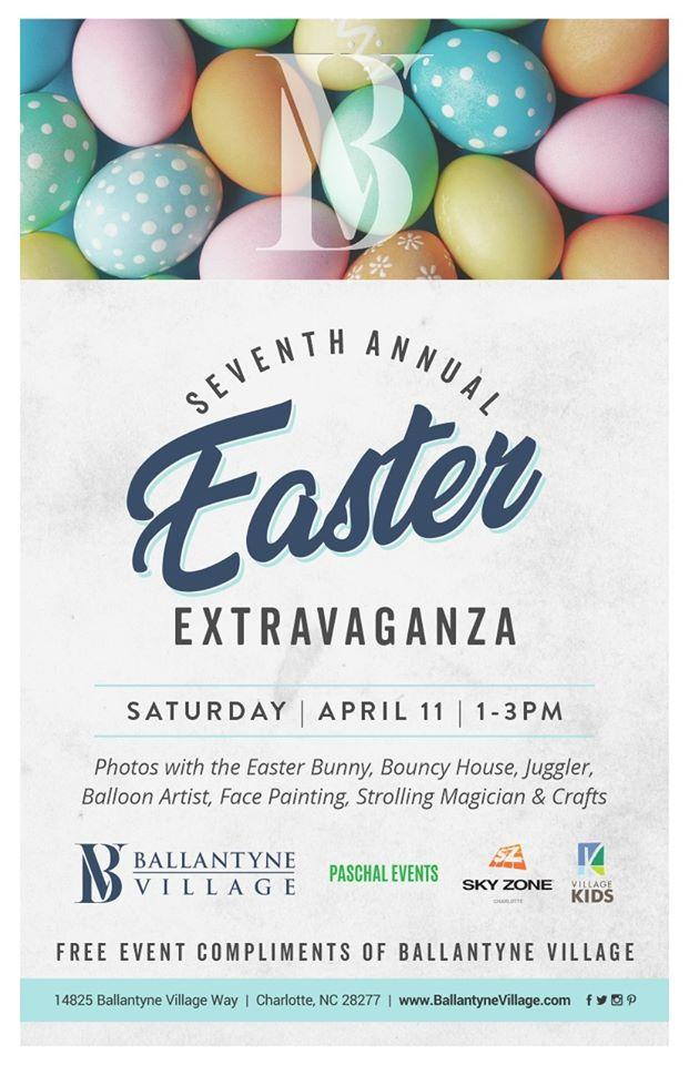 6th Annual Easter Extravaganza at Ballantyne Village
