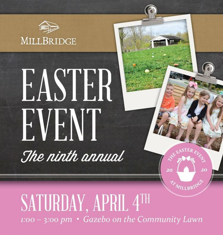 9th Annual MillBridge Easter Event