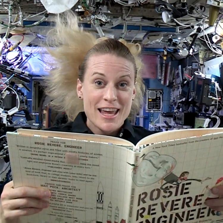Things for kids to do during quarantine: Storytime from Space
