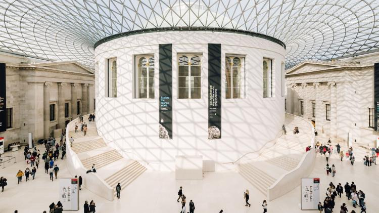 Take a virtual tour of the British Museum