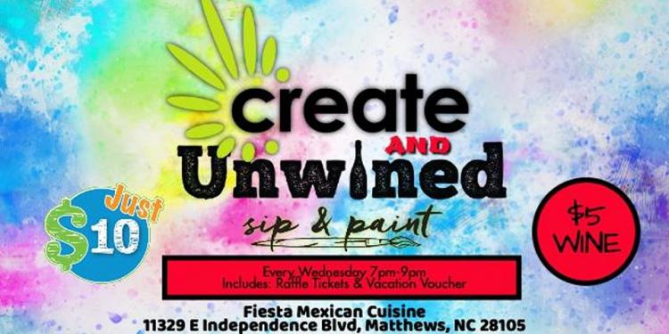 Create & unWINED (Sip & Paint)