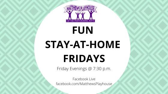 MPH Virtual Stay-at-Home Fridays Entertainment Series
