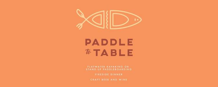Paddle To Table
