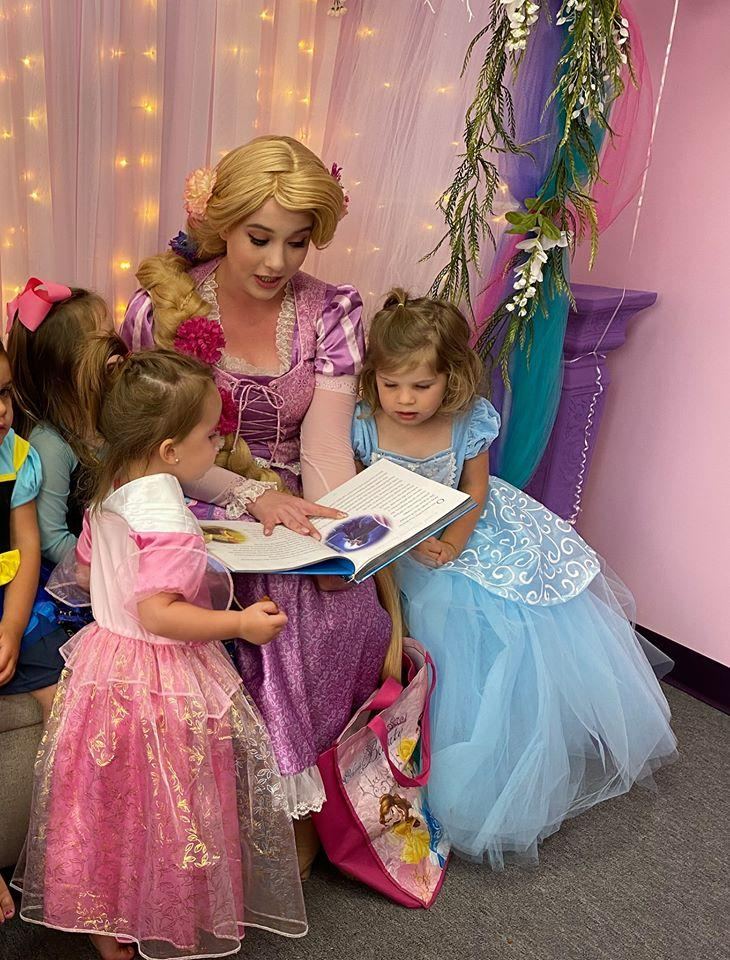 Princesses CAN Read, A Weekly Book Club Breakfast. Ages 3-12.
