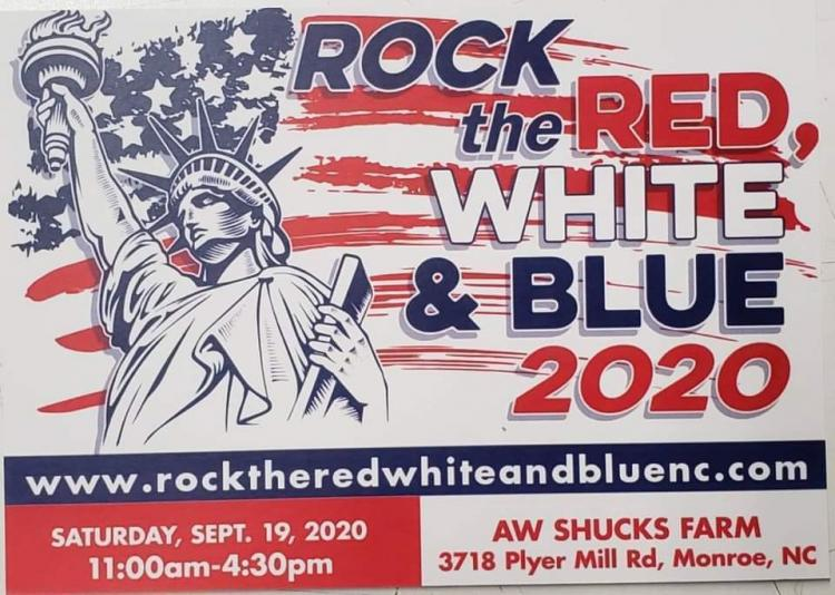 ROCK the RED, WHITE & BLUE Free Car Show/Shine 2020