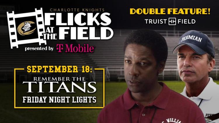 Remember the Titans & Friday Night Lights at Truist Field