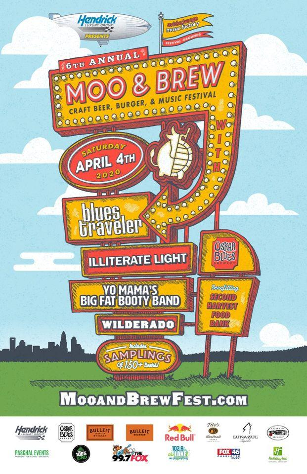 6th Annual Moo & Brew Craft Beer, Burger & Music Festival
