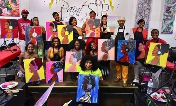 BOW Sip and Paint Fundraiser for Happy Food Market