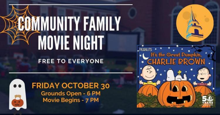 Fall Family Movie Night: Great Pumpkin Charlie Brown