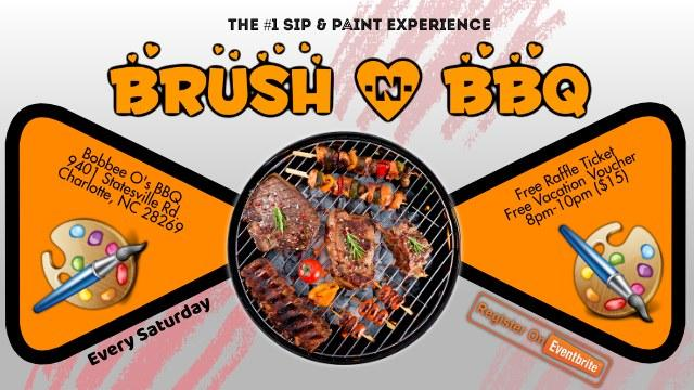 Brush & BBQ (Sip & Paint)