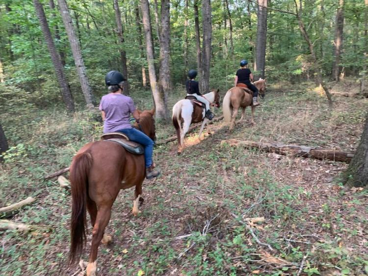 Homeschool/Online School MonthlyTrail Ride