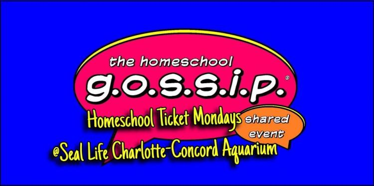 Homeschool Ticket Mondays ~ Sea Life Charlotte-Concord Aquarium