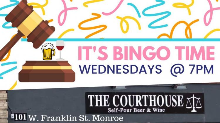 Music Bingo at The Courthouse - Monroe