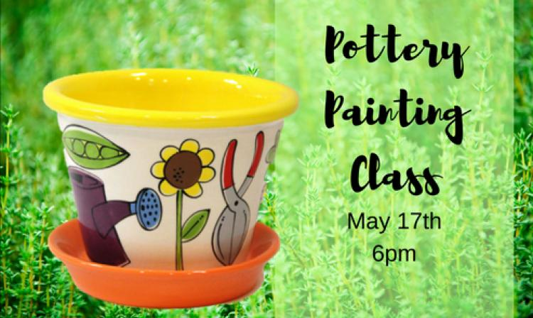 uPaint Pottery Painting Class