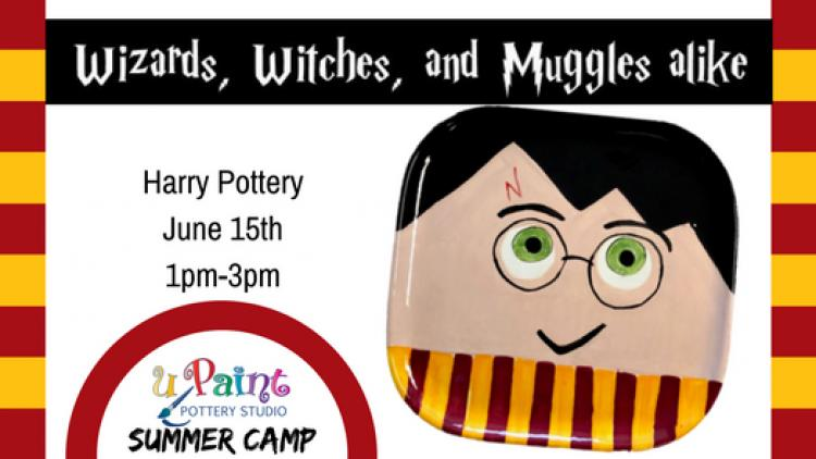 uPaint Summer Camp-Harry Potter Camp