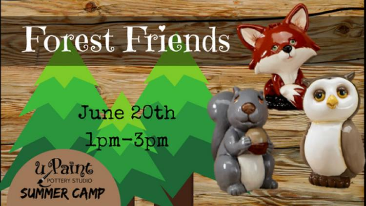 uPaint Summer Camp- Forest Friends
