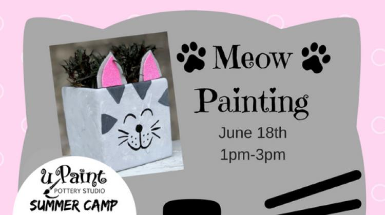 uPaint Summer Camp- Meow Painting