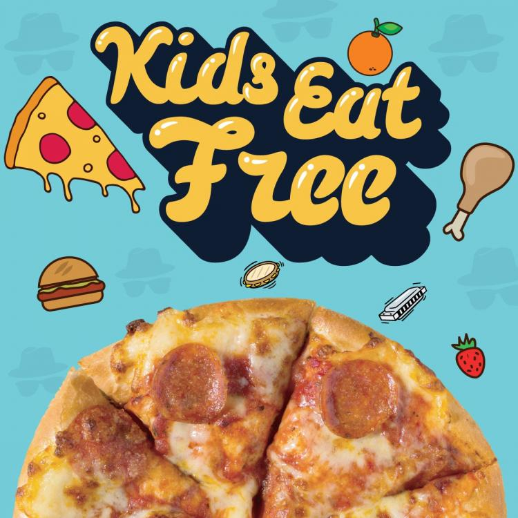 KIDS EAT FREE ALL DAY EVERY MONDAY AND TUESDAY at HOUSE OF BLUES!!